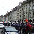 kramgasse: lots of cops
