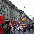 peace flags on kramgasse