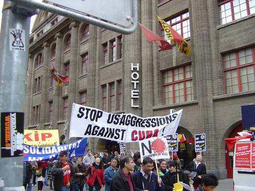 stop us aggression on cuba